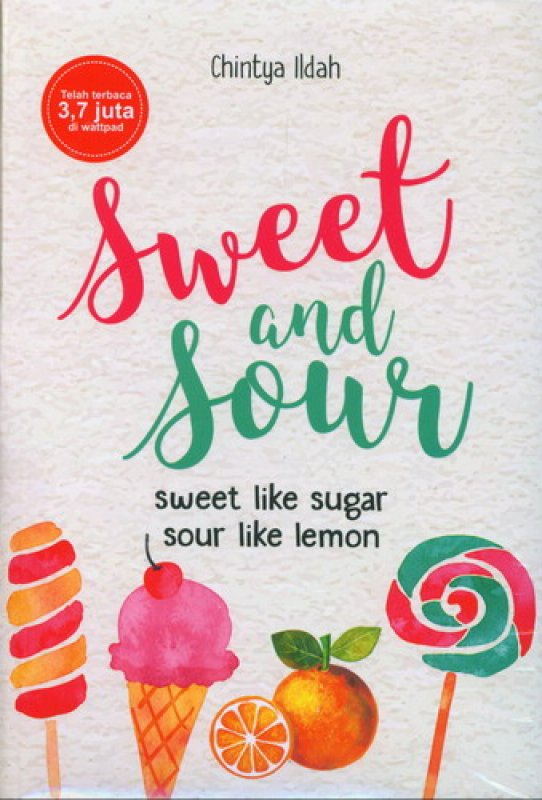 Cover Buku Sweet and Sour