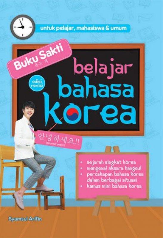 Cover Buku Buku Sakti Belajar Bahasa Korea