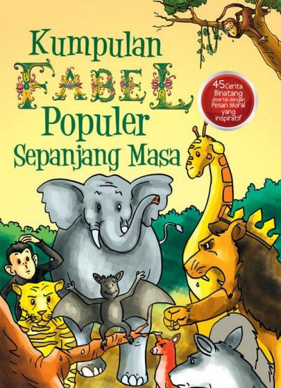 Cover Buku Kumpulan Fabel Populer Sepanjang Masa
