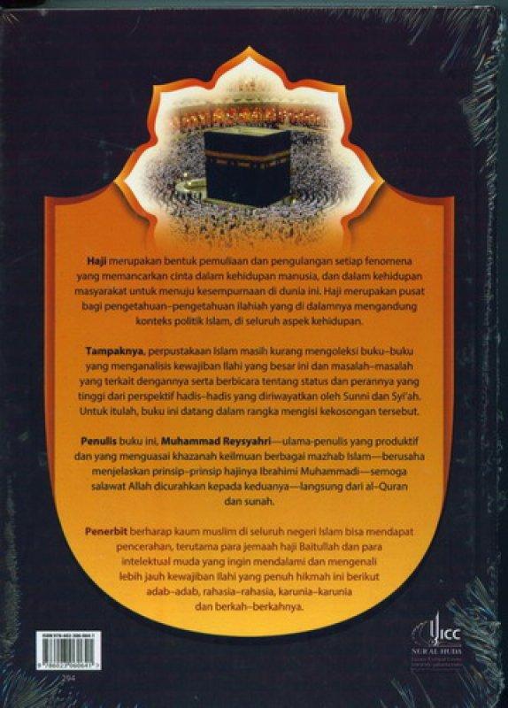 Cover Belakang Buku Haji & Umrah Menurut Al-Quran & Sunah Nabawi (HC)
