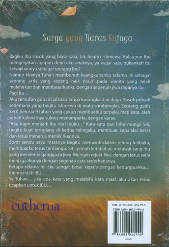 Cover Belakang Buku Surga yang Harus Ku Jaga