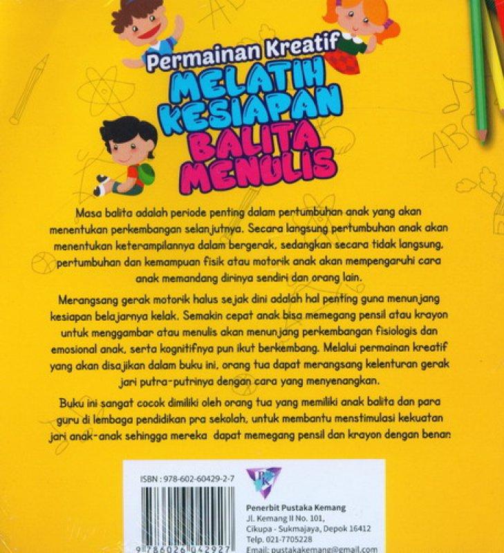 Cover Belakang Buku Permainan Kreatif Mengenal Angka 1-10