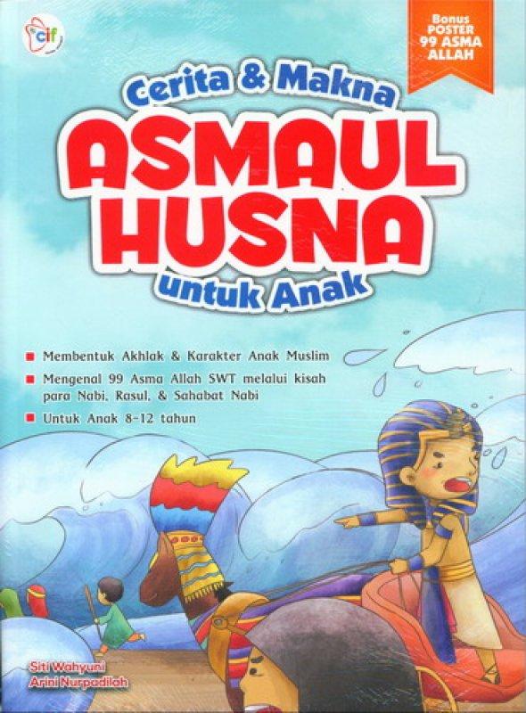 Cover Buku Cerita & Makna Asmaul Husna untuk Anak
