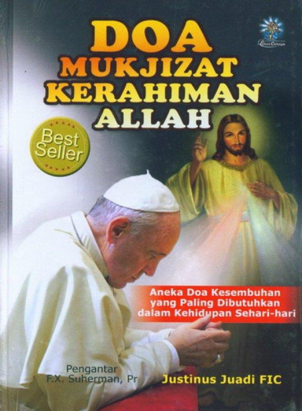 Cover Buku Doa Mukjizat Kerahiman Allah (HC)