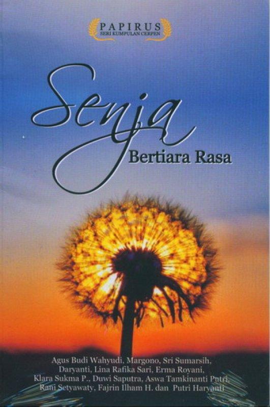 Cover Buku Senja Bertiara Rasa