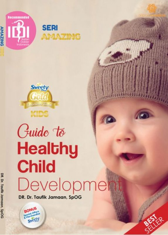 Cover Buku Amazing Kids : Guide to Healthy Child Development