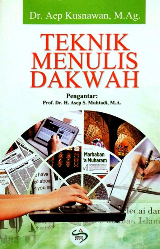 Cover Belakang Buku Teknik Menulis Dakwah