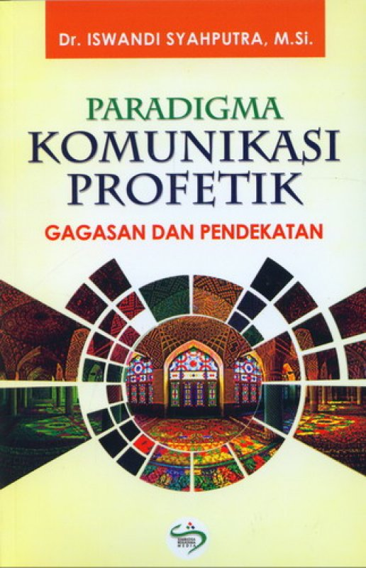 Cover Buku Paradigma Komunikasi Profetik - Gagasan dan Pendekatan
