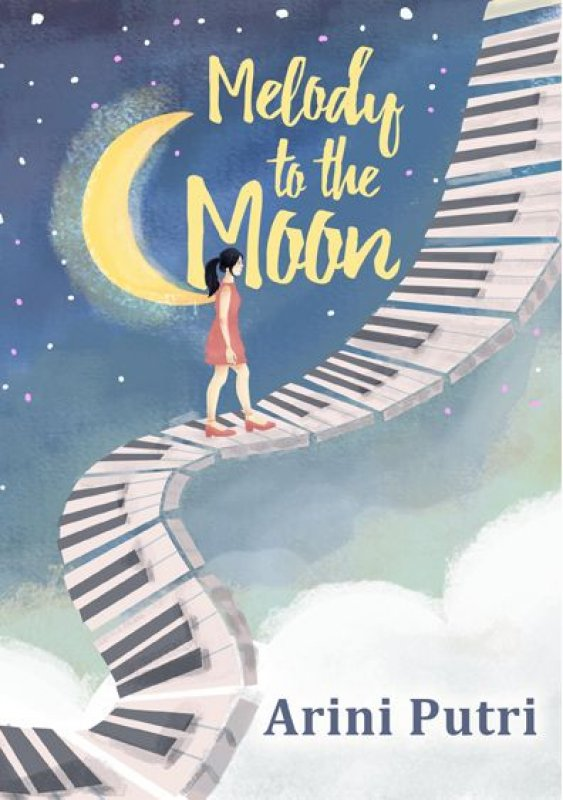 Cover Buku Melody to The Moon