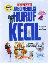 Buku Ajaib Jago Menulis Huruf Kecil PAUD & TK [Bonus Spidol & Penghapus]