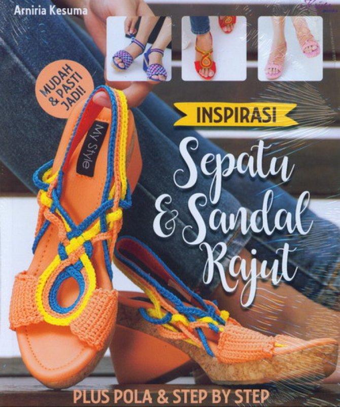 Cover Buku Inspirasi Sepatu & Sandal Rajut