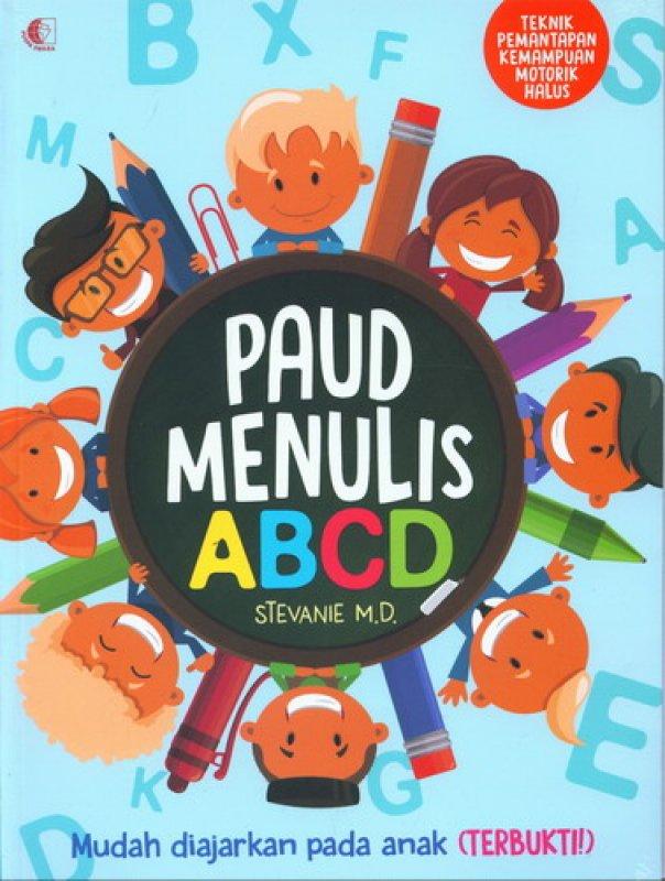Cover Buku Paud Menulis ABCD