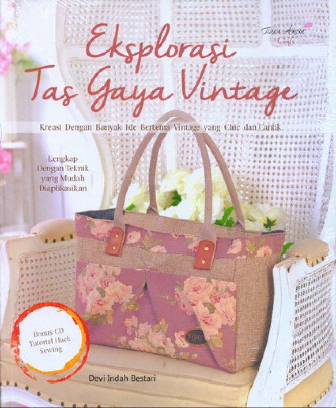 Cover Buku Eksplorasi Tas Gaya Vintage
