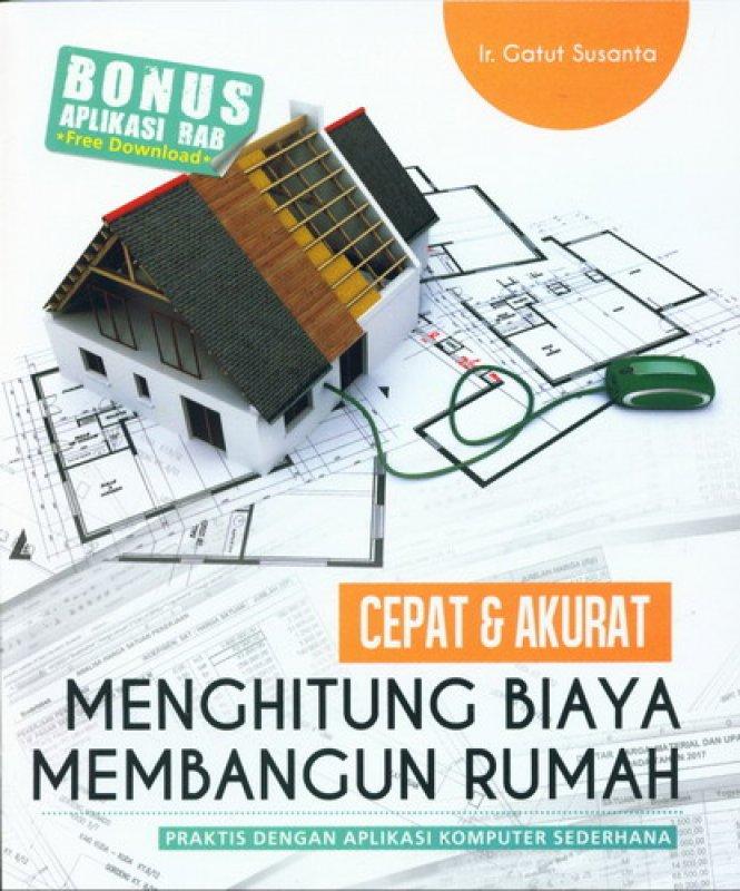 Cover Buku Cepat & Akurat Menghitung Biaya Membangun Rumah