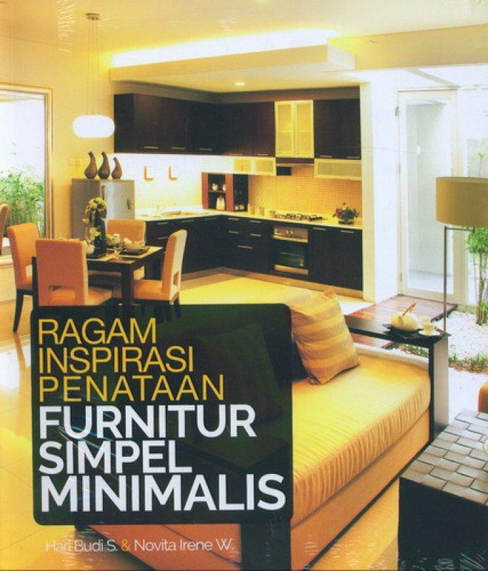 Cover Buku Ragam Inspirasi Penataan Furnitur Simpel Minimalis