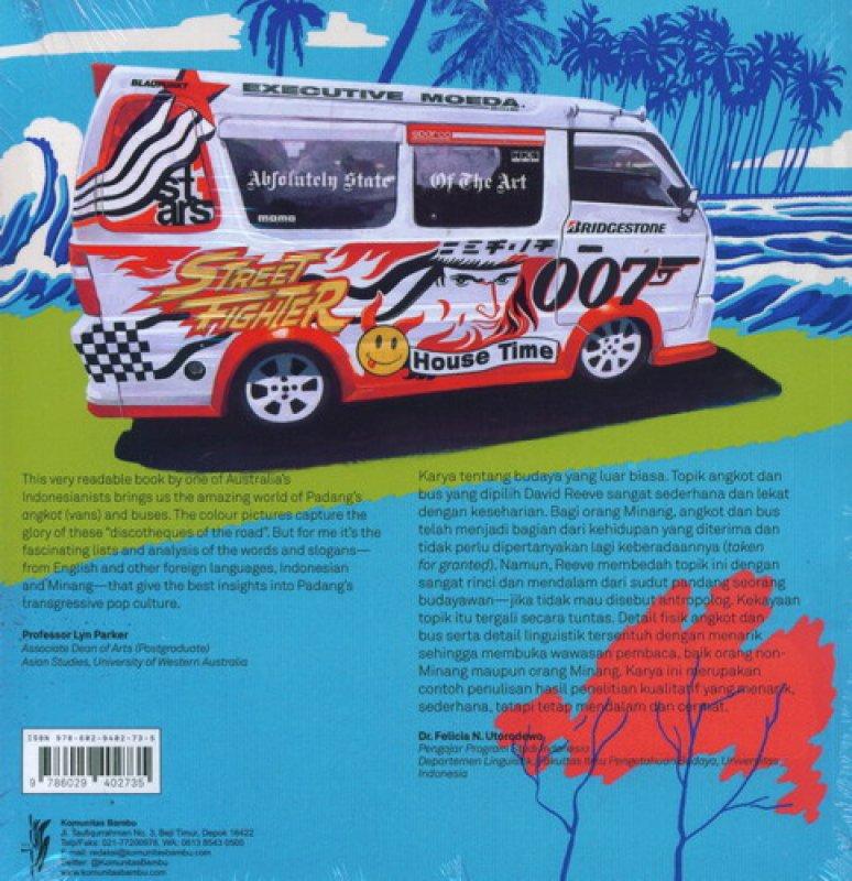 Cover Belakang Buku Angkot & Bus Minangkabau