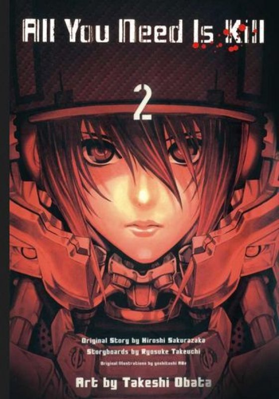 Cover Buku LC: All You Need Is Kill 2