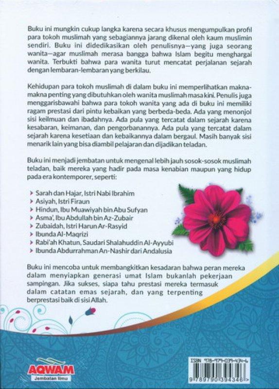 Cover Belakang Buku 66 Muslimah Pengukir Sejarah (HC)