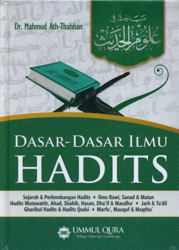 Cover Buku Dasar-Dasar Ilmu Hadits (HC)