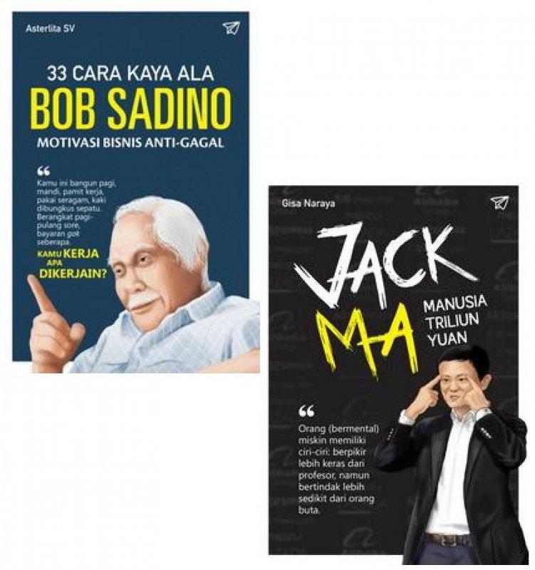 Cover Buku Special Offer [Bob Sadino:33 Cara Kaya ala & Jack Ma]