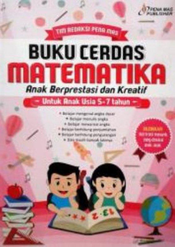 Cover Buku Buku Cerdas Matematika Anak Berprestasi dan Kreatif