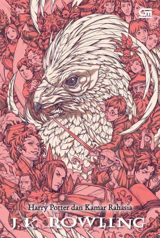 Cover Buku Harry Potter dan Kamar Rahasia (Cover Baru)