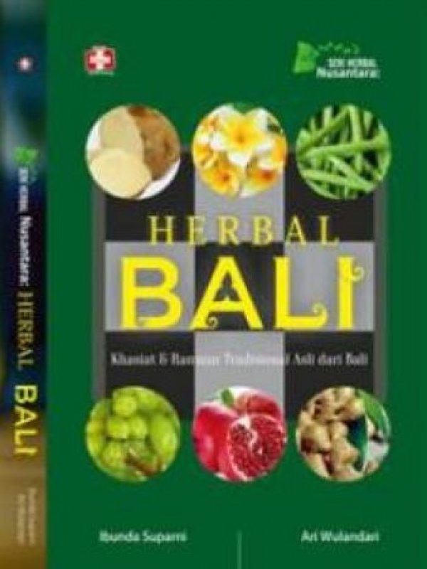 Cover Buku Herbal Bali Khasiat Dan Ramuan Tradisional Asli Dari Bali