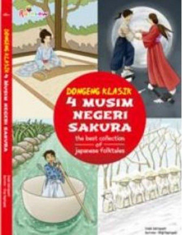 Cover Buku Dongeng Klasik 4 Musim Negeri Sakura