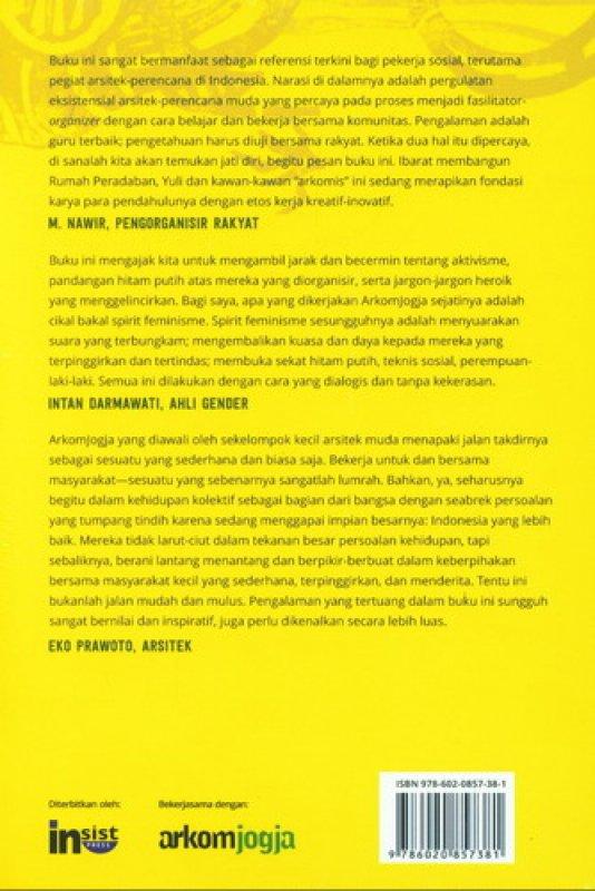 Cover Belakang Buku Pengorganisasian Rakyat & Hal-hal yang Belum Selesai
