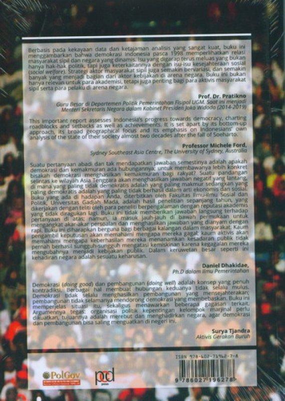 Cover Belakang Buku Reclaiming The State