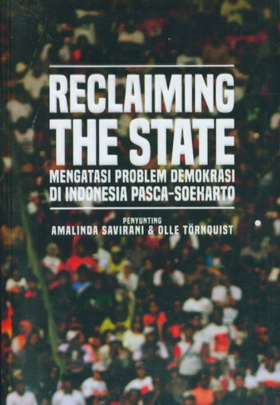 Cover Buku Reclaiming The State