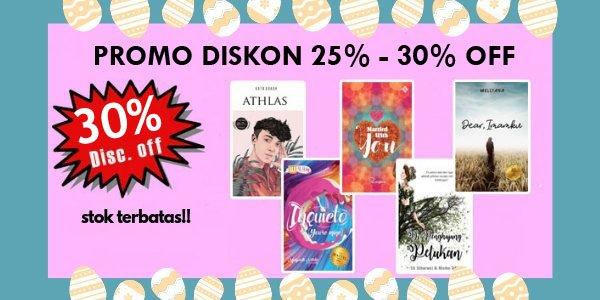 PROMO DISKON 25% - 30% KHUSUS DI BUKUKITA.COM