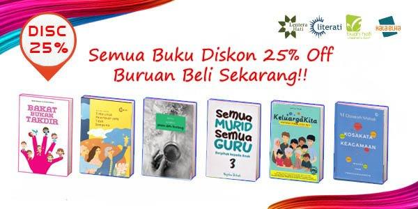 Promo Diskon 25% Semua Buku