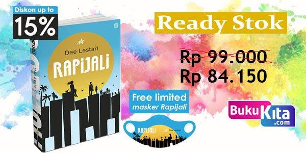 Ready Stok Buku Rapijali Karya Dee Lestari