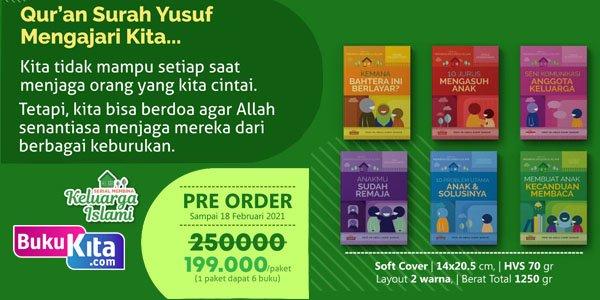 Preorder Buku Serial Membina Keluarga Islami